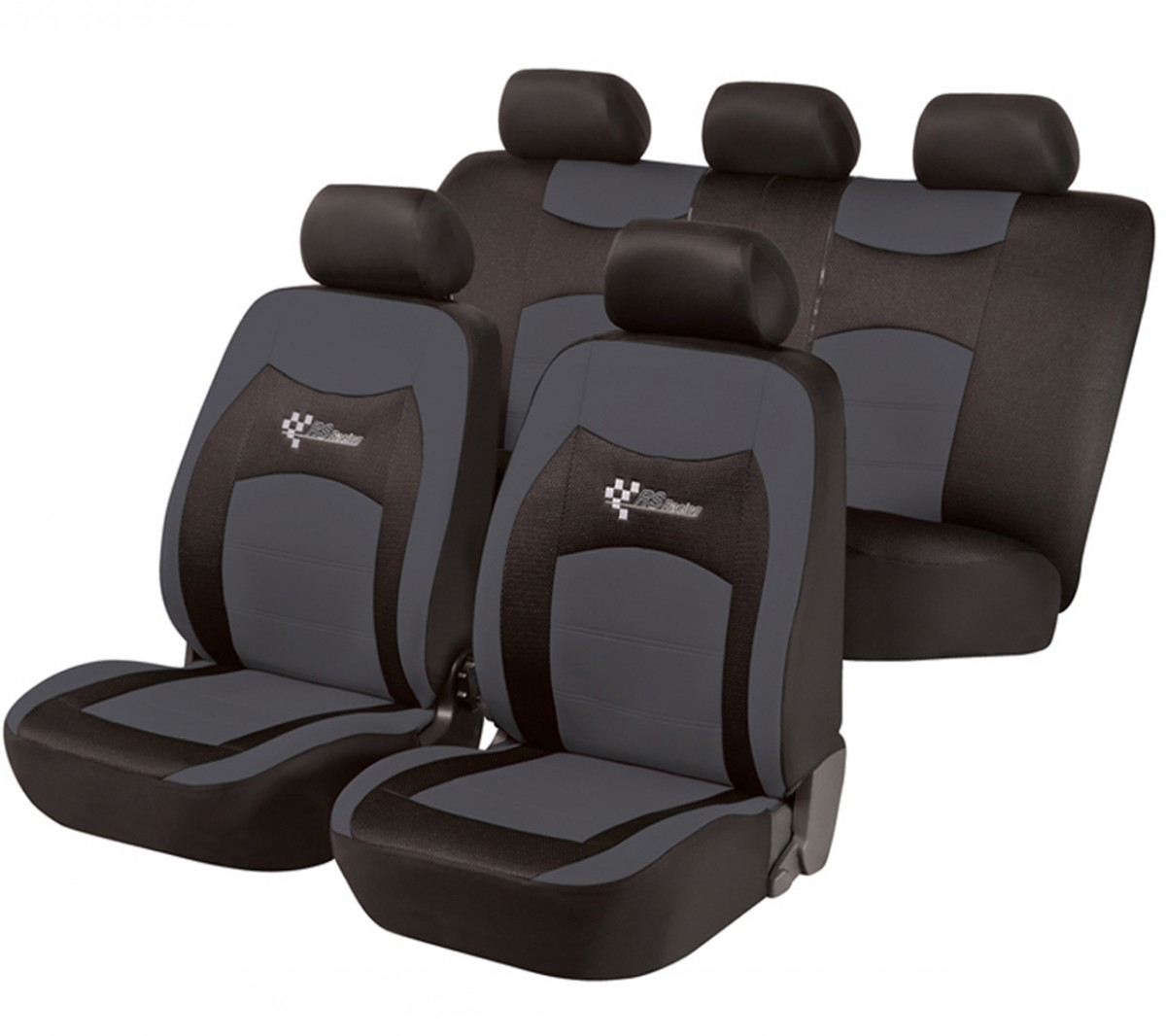 autositzbezug schonbezug komplett set vw golf vi. Black Bedroom Furniture Sets. Home Design Ideas