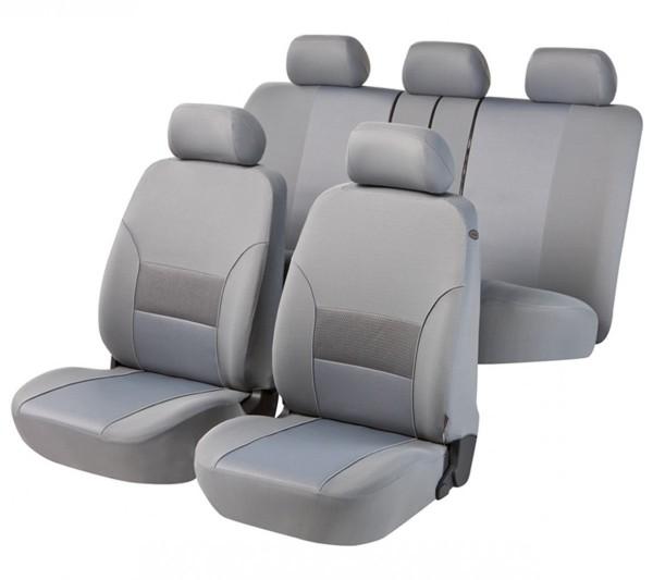 Autositzbezug Schonbezug, Komplett Set, Opel Vivaro Life, Grau