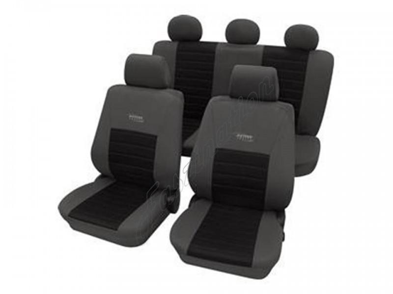 W211 Autositzbezüge Schonbezüge Velours Universal MERCEDES-BENZ KLASA E VGL1