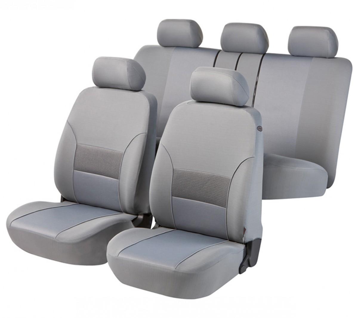 autositzbezug schonbezug komplett set vw caddy grau. Black Bedroom Furniture Sets. Home Design Ideas