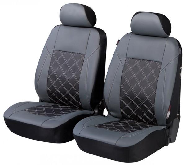 Autositzbezug Schonbezug, Vordersitzbezüge, Mini Mini Clubman, Grau, Schwarz