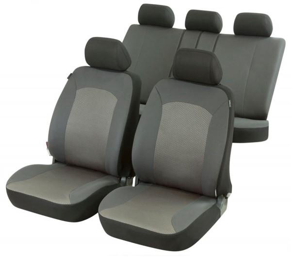 Graue Sitzbezüge für SKODA OCTAVIA  Autositzbezug Komplett