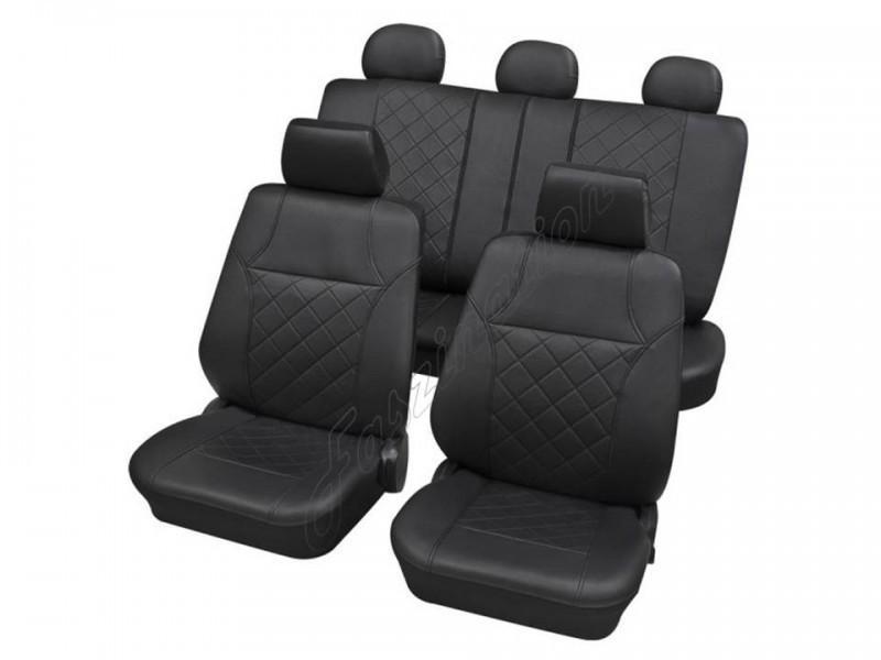 autositzbezug schonbezug komplett set ford ka anthrazit schwarz. Black Bedroom Furniture Sets. Home Design Ideas