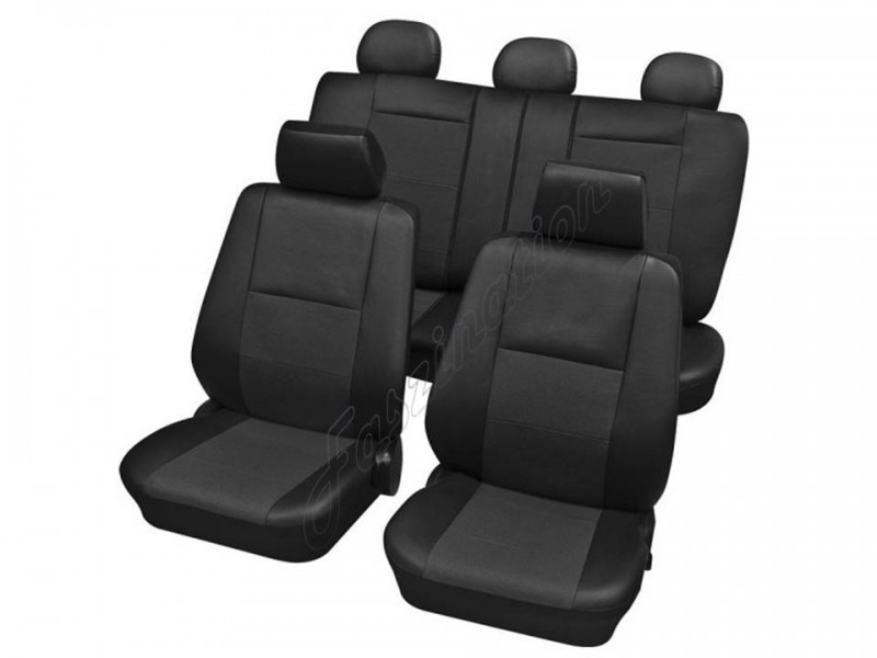 autositzbezug schonbezug komplett set skoda fabia i bis 2. Black Bedroom Furniture Sets. Home Design Ideas
