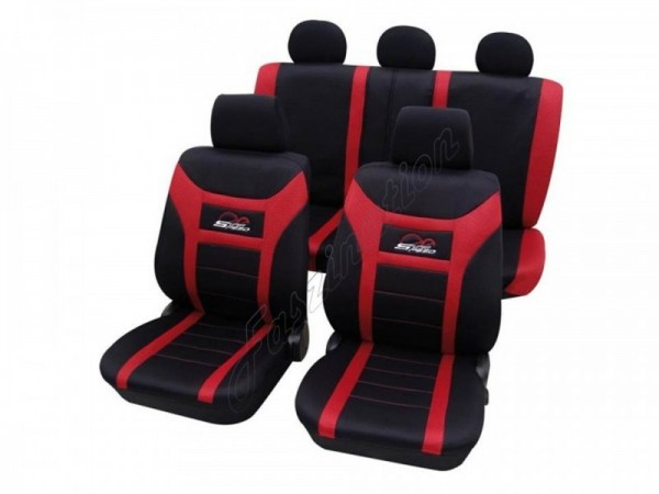 Autositzbezug Schonbezug, Komplett-Set, Ford, Escort, Fiesta bis 8/2008, Fusion, KA, Kuga ab 6/2008,