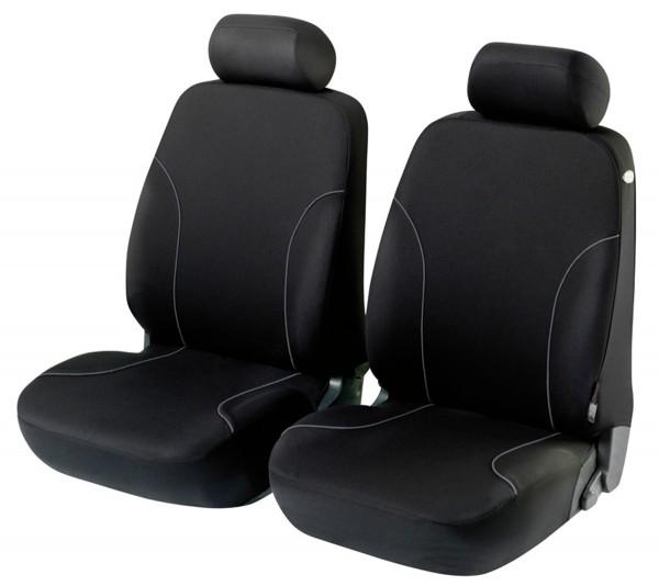 Autositzbezug Schonbezug, Vordersitzbezüge, Renault 5, Schwarz